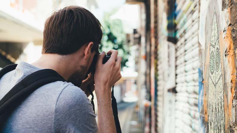 menjadi fotografer jalanan