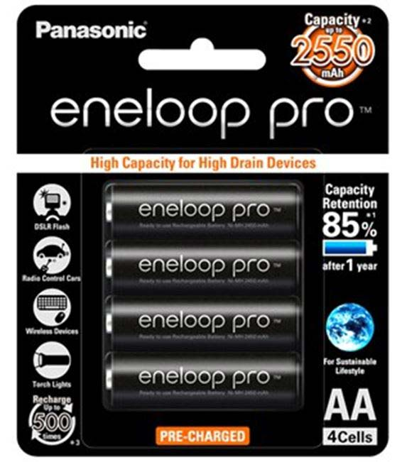 Baterai Eneloop Pro