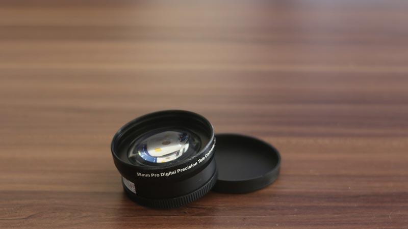 review aksesoris kamera tele converter