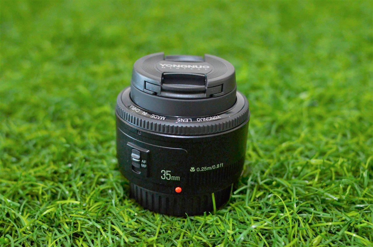 Lensa Yongnuo YN35mm