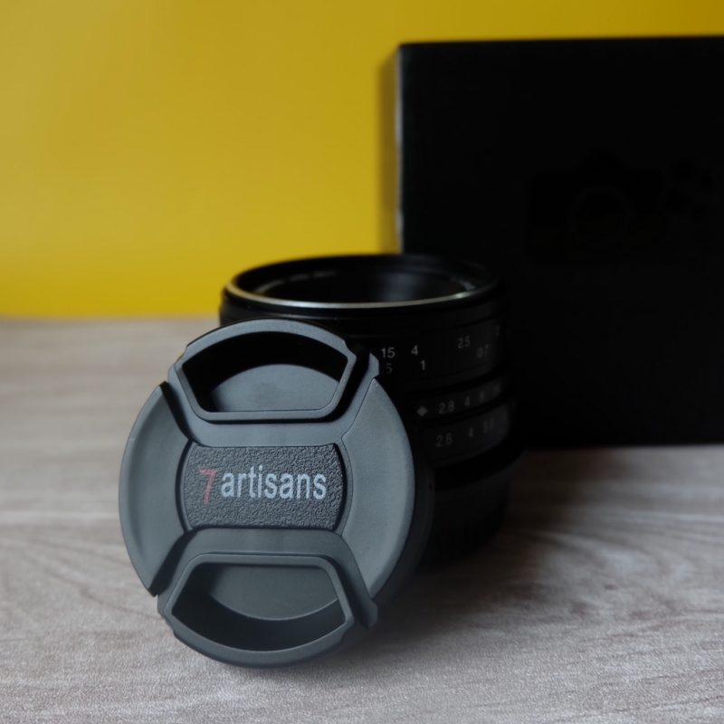 Revisi lensa 7artisans 25 mm